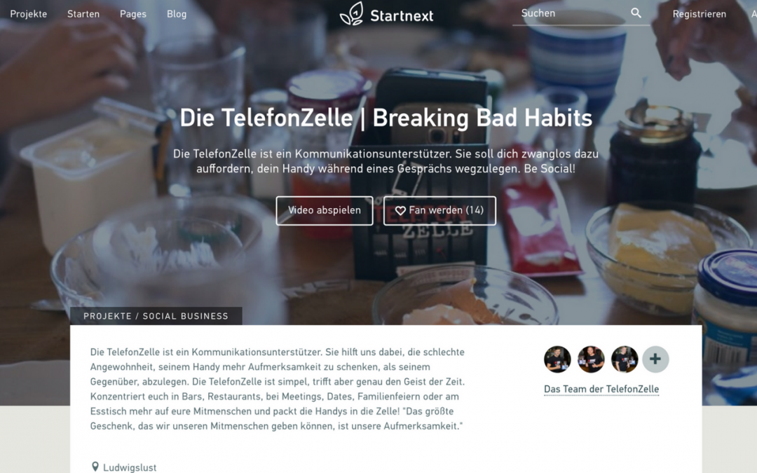 Die TelefonZelle | Breaking Bad Habits